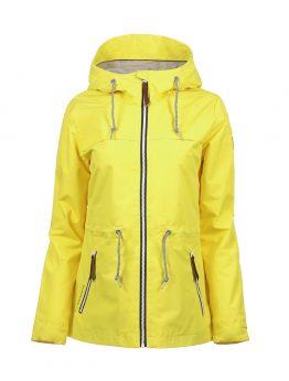 Luoto Kaisla keltainen naisten takki etu