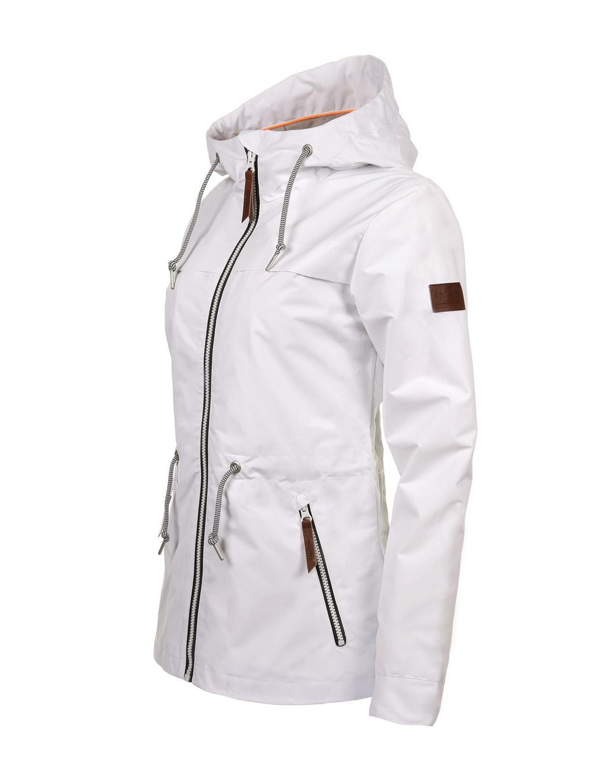 Luoto Kaisla valkoinen naisten takki sivu