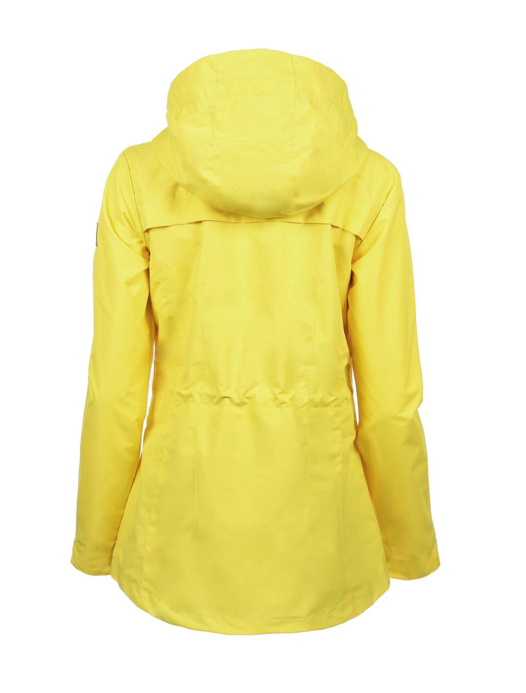 Luoto Kaisla keltainen naisten takki taka
