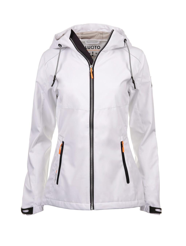 Luoto Laine valkoinen naisten takki etu