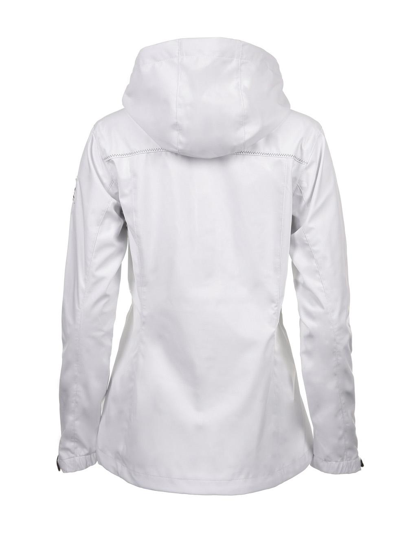 Luoto Laine valkoinen naisten takki taka