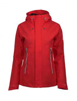 Luoto Maininki punainen naisten takki etu