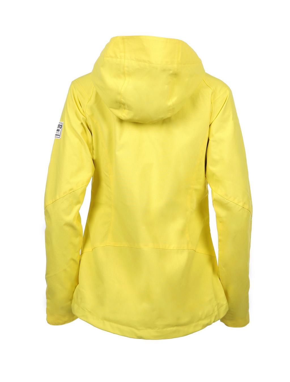 Luoto Maininki keltainen naisten takki taka