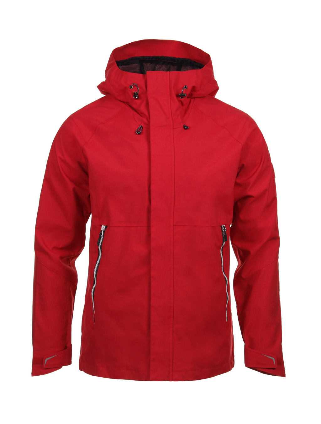 Luoto myrsky jacket red front