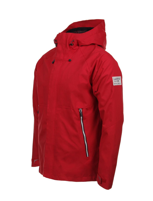 Luoto myrsky takki punainen sivu