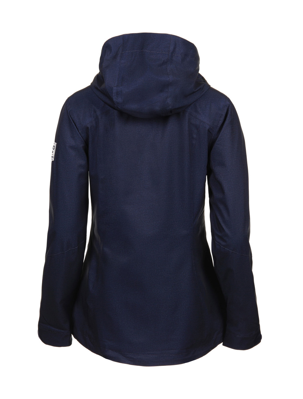 Luoto Saari sininen naisten takki taka