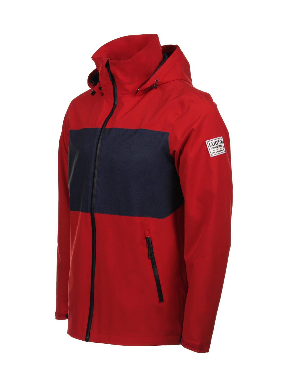 Luoto satama takki punainen etu