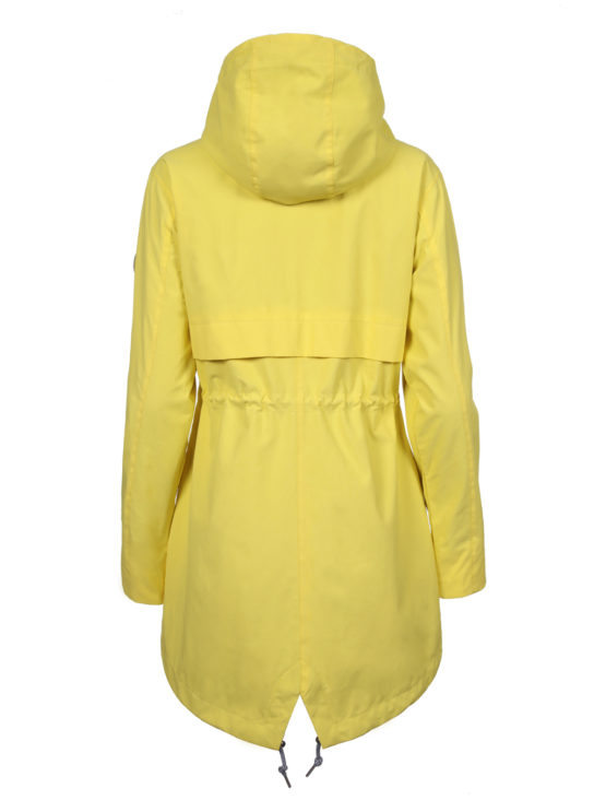 LOISKE keltainen naisten parkatakki